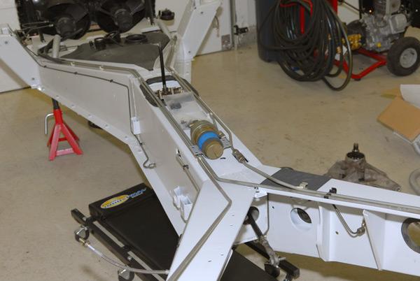 Delorean Restoration Frame Build Up