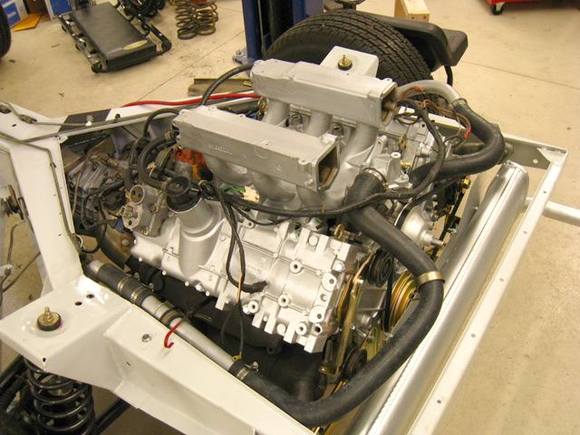 Delorean Restoration  Testing The Cooling System