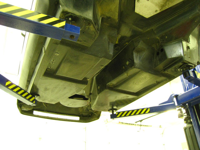 how to clean car underbody