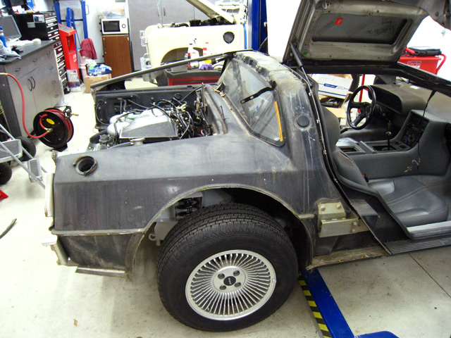 Delorean Restoration